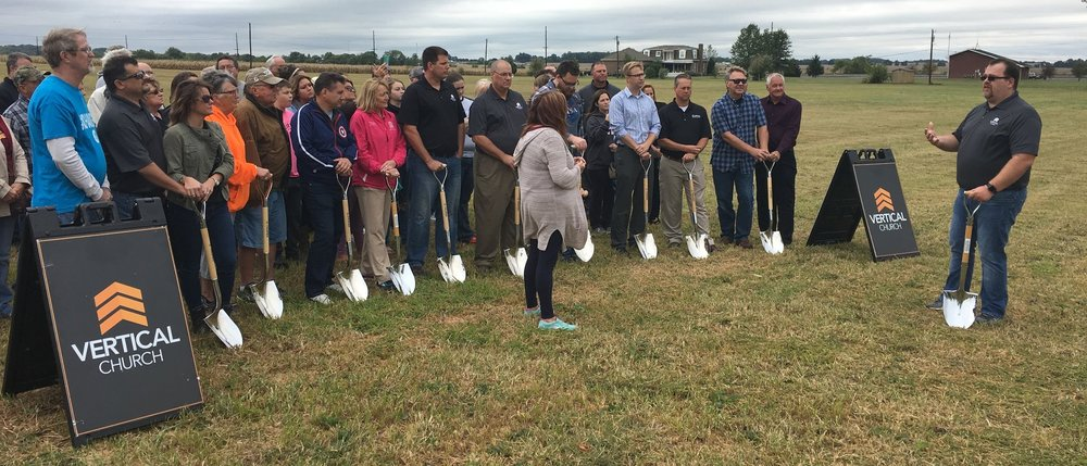Breaking Ground - October 10th, 2017            Fort Branch, Indiana