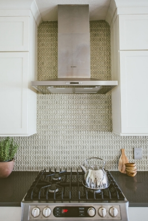 This is my Walker Zanger backsplash. I love it so much! Photo by An Indoor Lady.