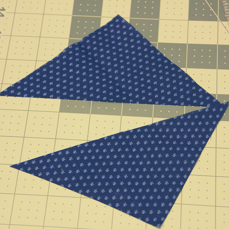 Half Square Trianges