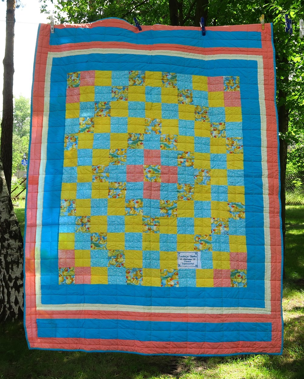 53 Donated partial top as a lap size. I made it larger.