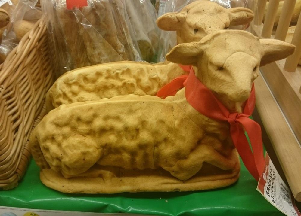 Lambs in Polish Store
