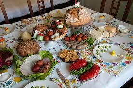 Polish Easter Dinner