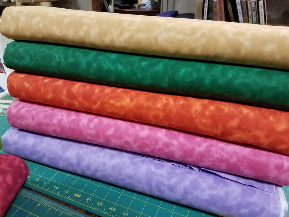 Here is the second batch that can be added to the original yardage.