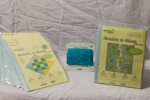 SOLD OUT   QUICK VIEW   Meadow in Bloom Jo-Ann Complete Quilt Kit   50.00 145.86