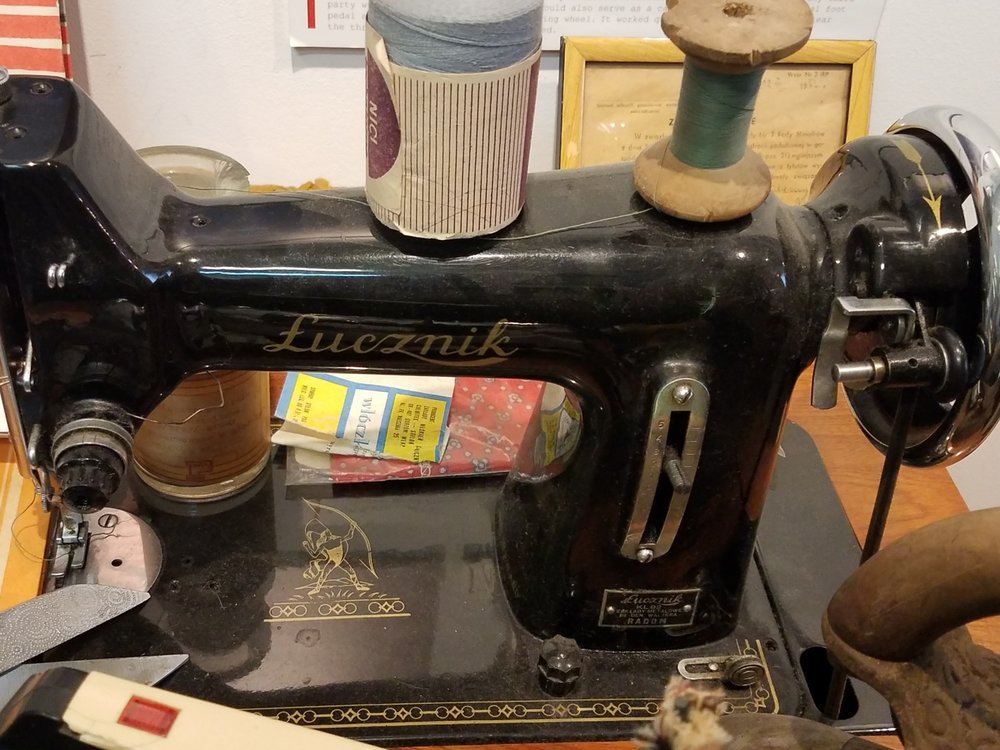 Lucznik is still a very common Polish brand of sewing machine.