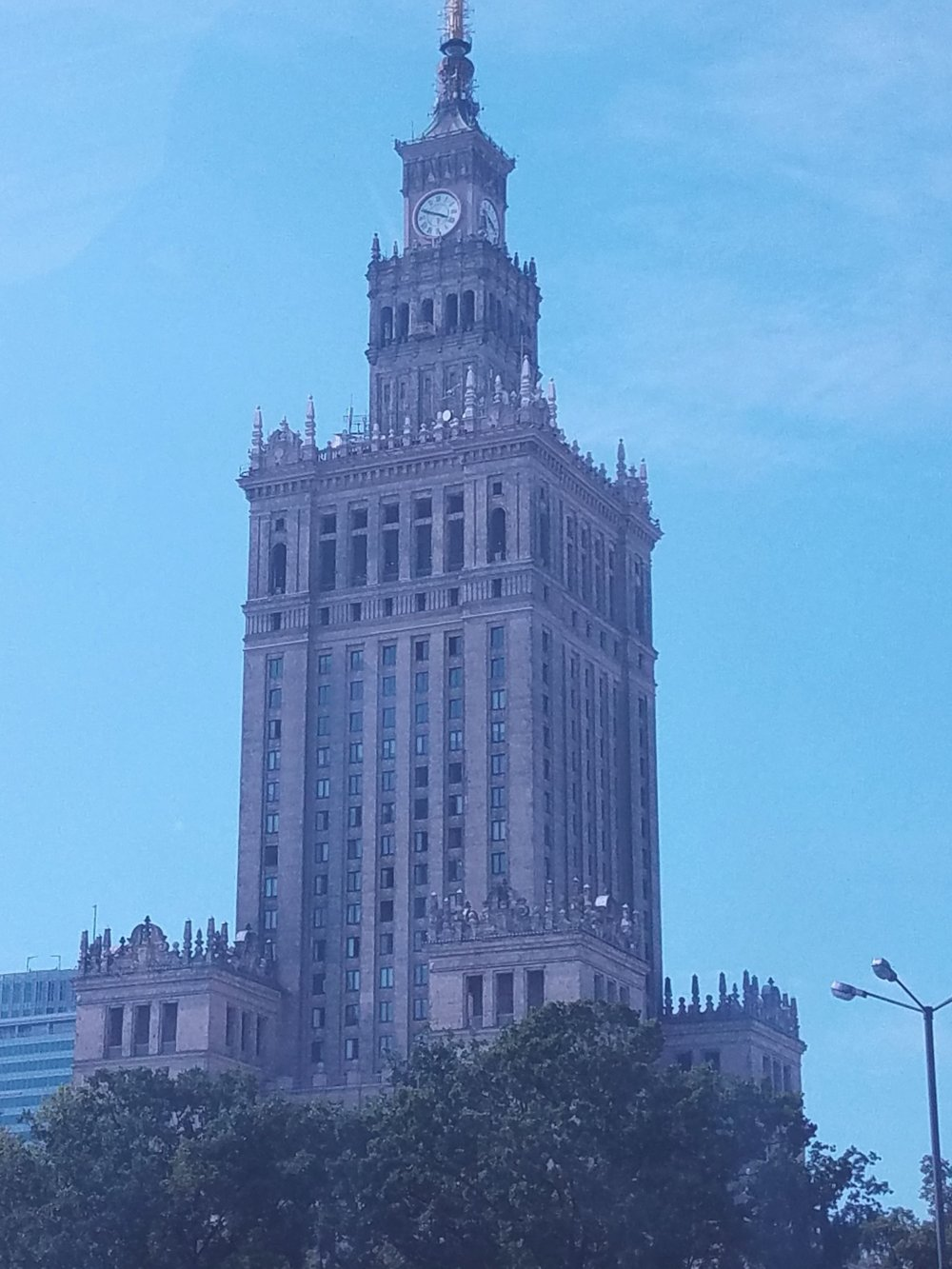 Palace of Science and Culture - right in the heart of Warsaw