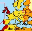 "I put pink ""x"" where Poland is."