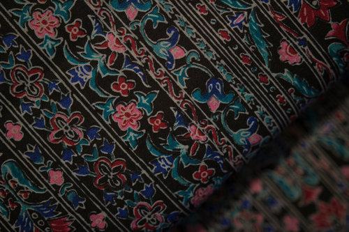 Black Mixed Fabric