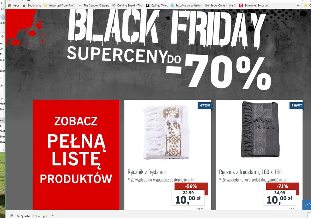 Lidl is having a Black Friday sale as well.