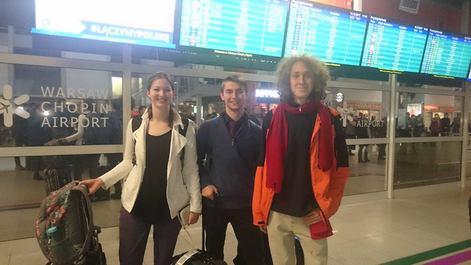 Lydia, Daniel, and Sylwek