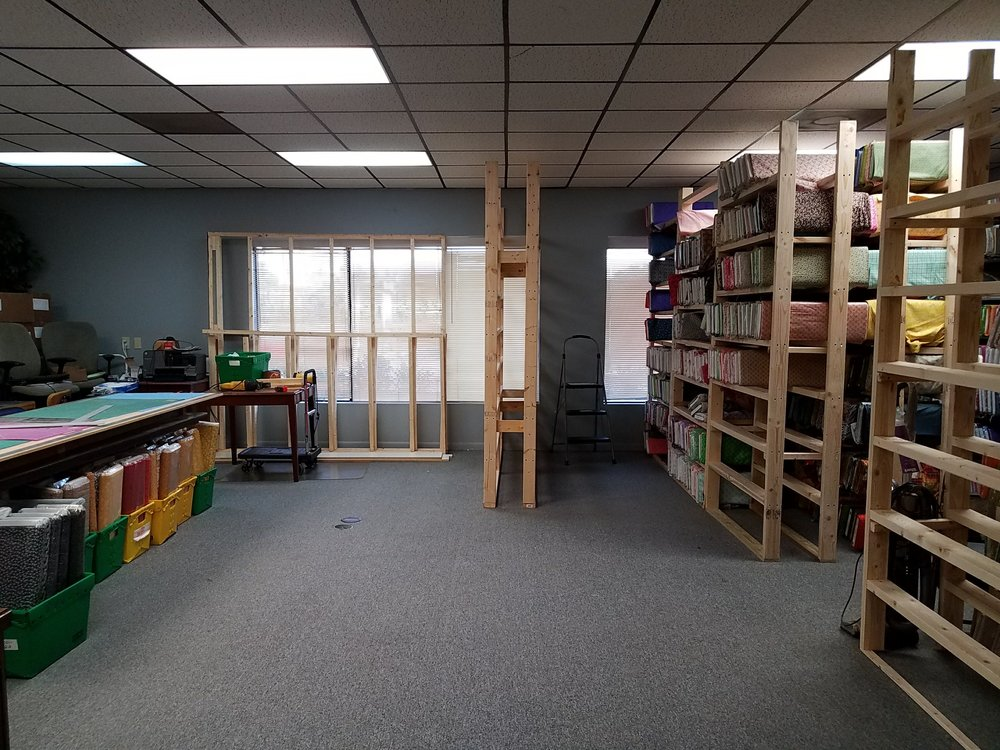 We love our open space - We also have empty shelves (for now)