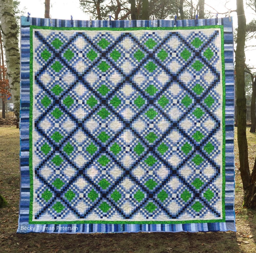 Our Best Photo of Triple Irish Delight Quilt