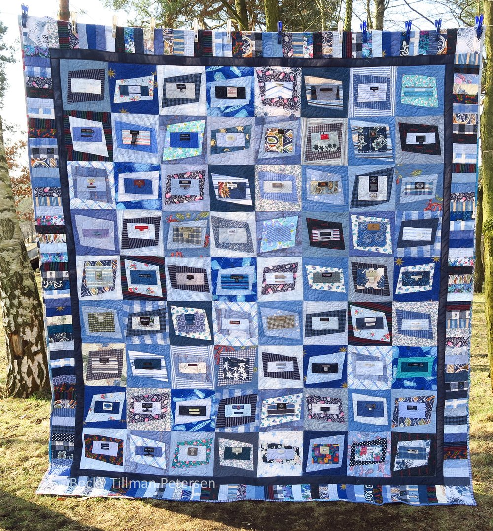 Premium Label Full Quilt Pattern