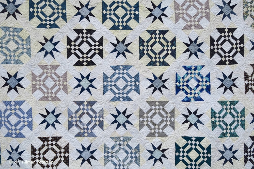 Starring Monkey Wrenches Quilt