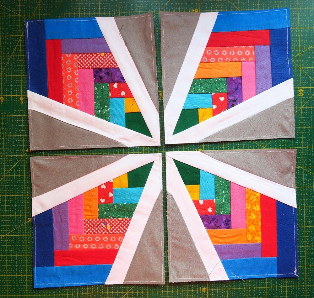 Woven Stars Quilt Blocks