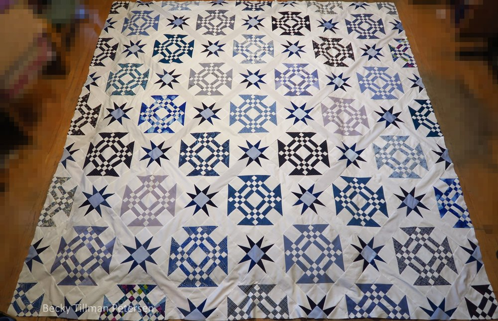 Starring Monkey Wrenches Full Quilt