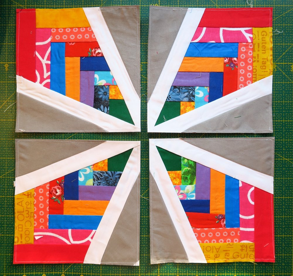 Four Blocks For Woven Star