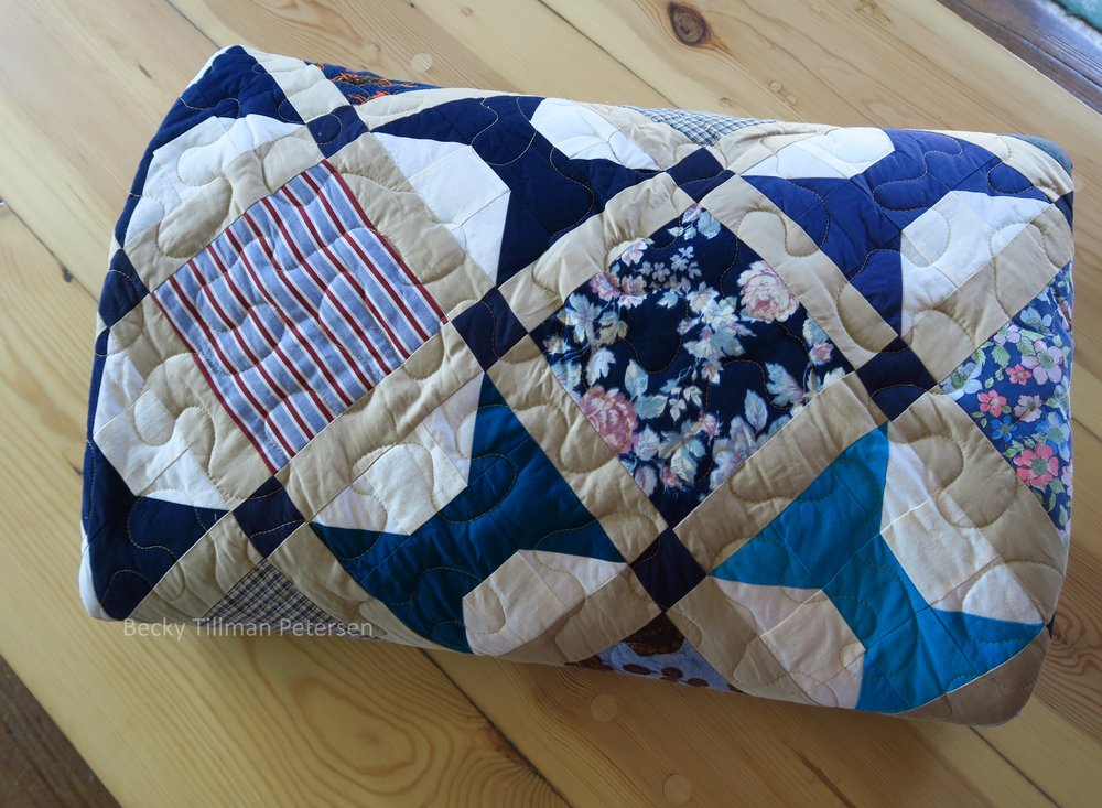 Periscope Quilt Roll