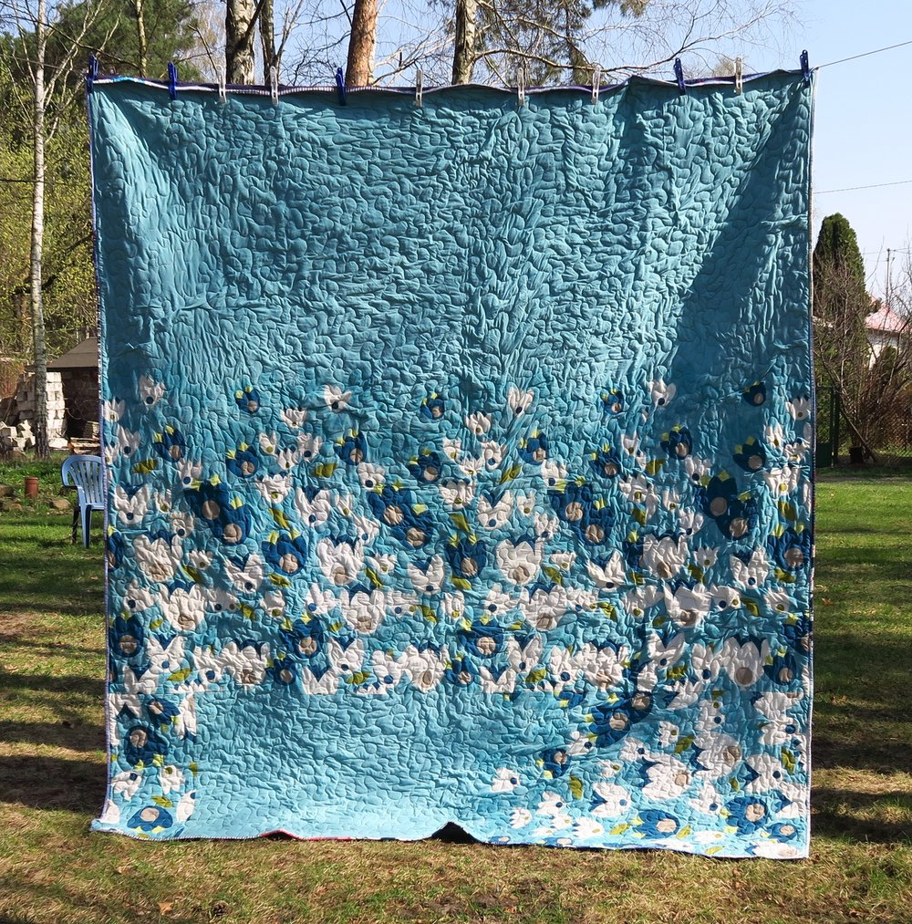 Periscope Quilt Backing
