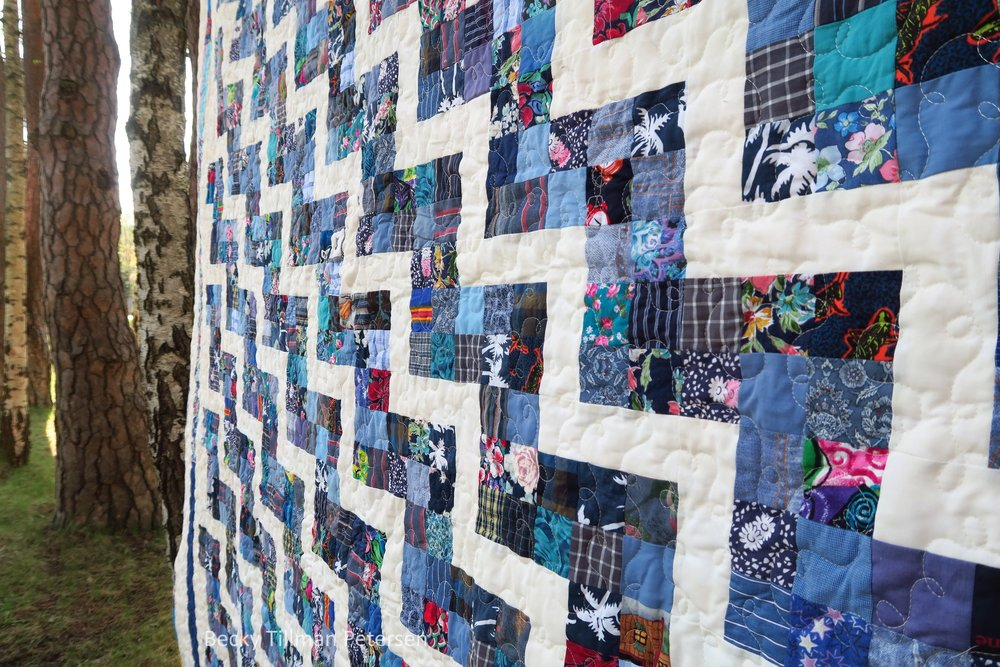 Scrappy Rail Fence Quilt