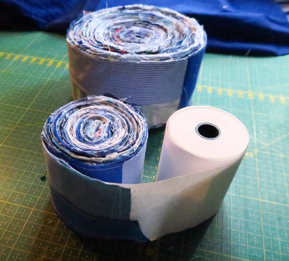 i sewed another tape full - so I do have quite a bit ready to go.