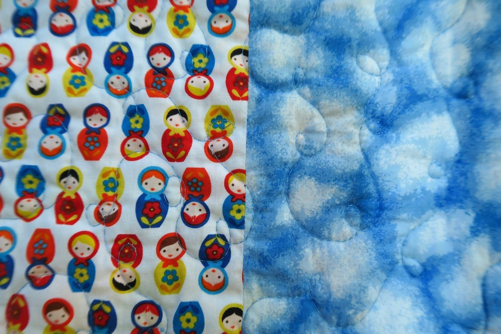 If you haven't gotten some of this yet, you are missing out on some adorable fabric! Yes, they are small - but so what? They are just as cute as can be! It's  Robert Kaufman and only $4.99/yard!