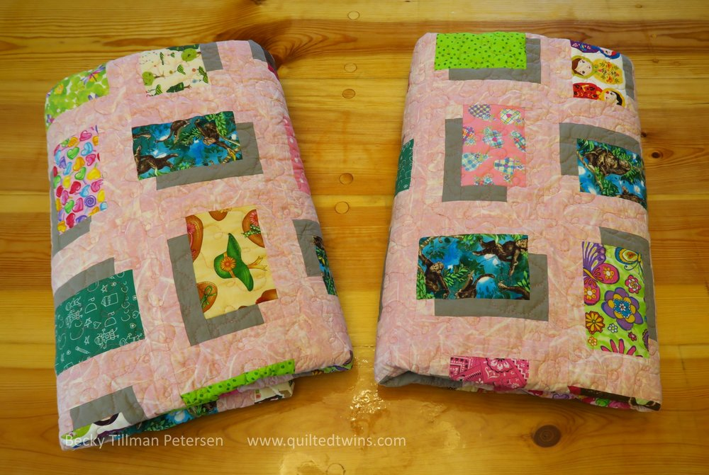 "These are such ""sweet"" quilts. I really like them and I hope my granddaughters do as well."