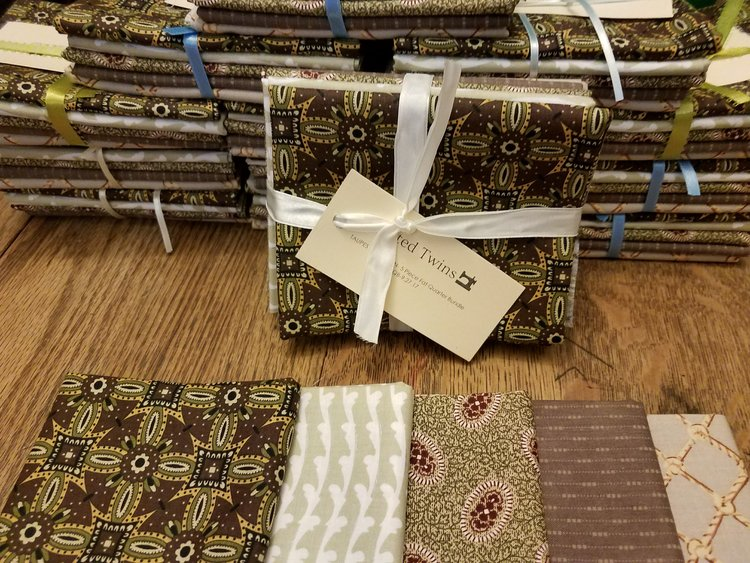 This picture just shows a fat quarter bundle - and is typical - the winners may or may not be like this. Probably won't, in fact since this is from a year or so ago.