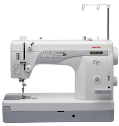 My Janome 1600 P QC is at the shop so I just took a picture of one off the internet.