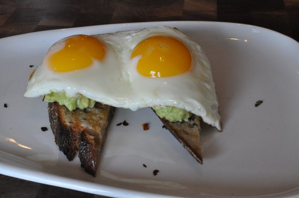 Avacado and Eggs on Toast
