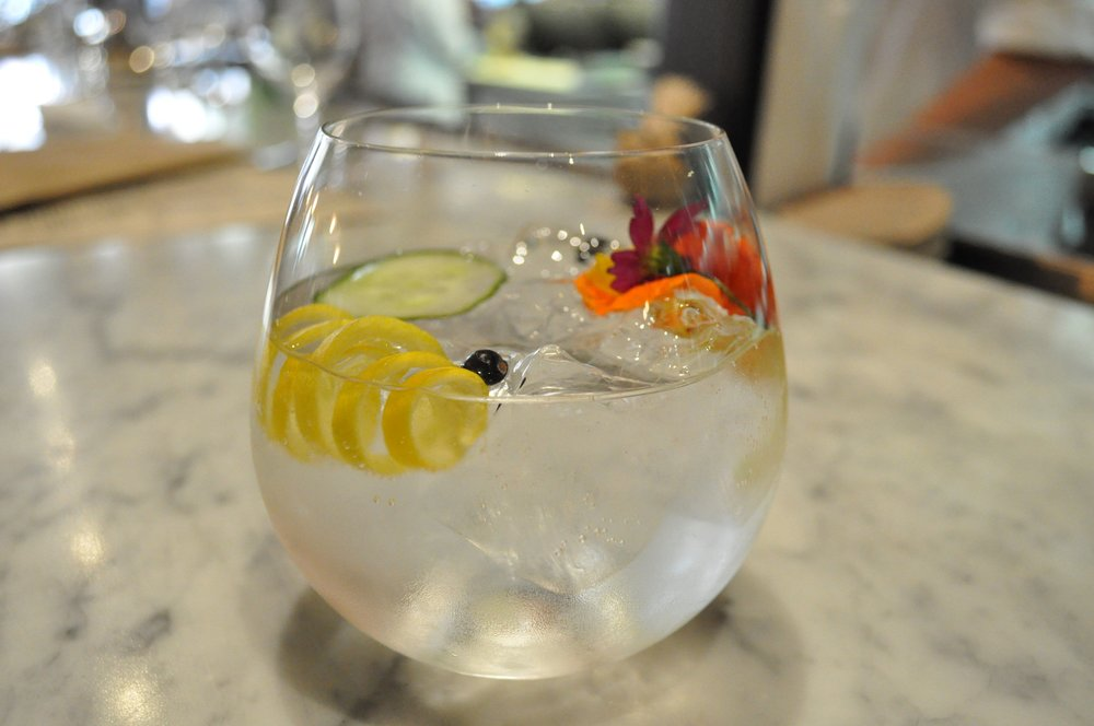 Gin n Tonic at Curate