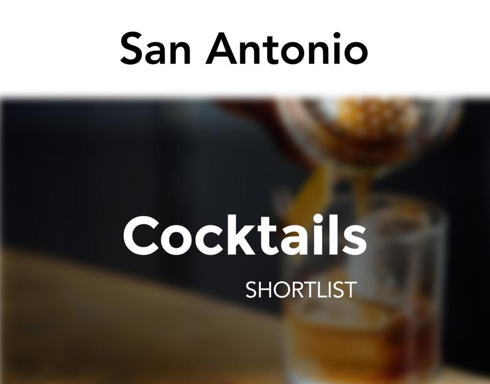 cocktails san antonio