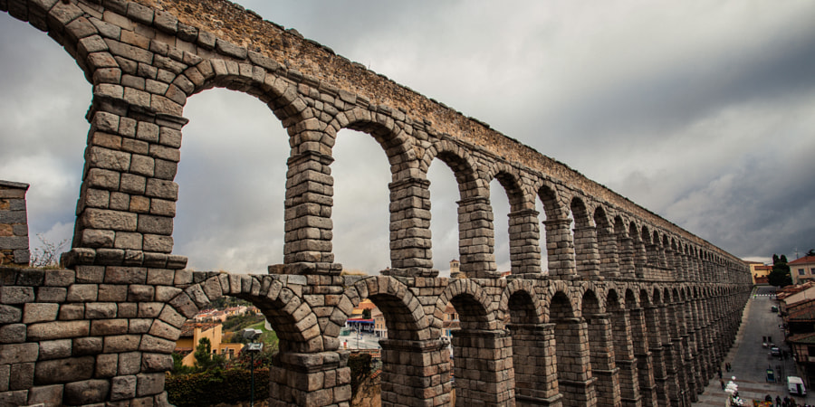 Roman Aqueducts in Segovia