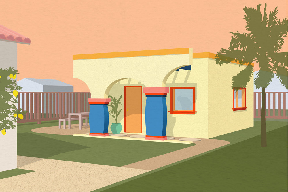 Studio + Spanish-Inspired + Vibrant