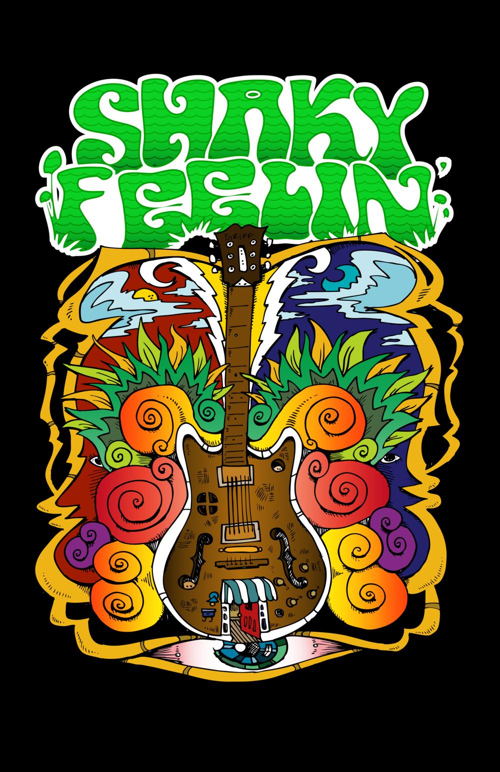 shaky guitar logo
