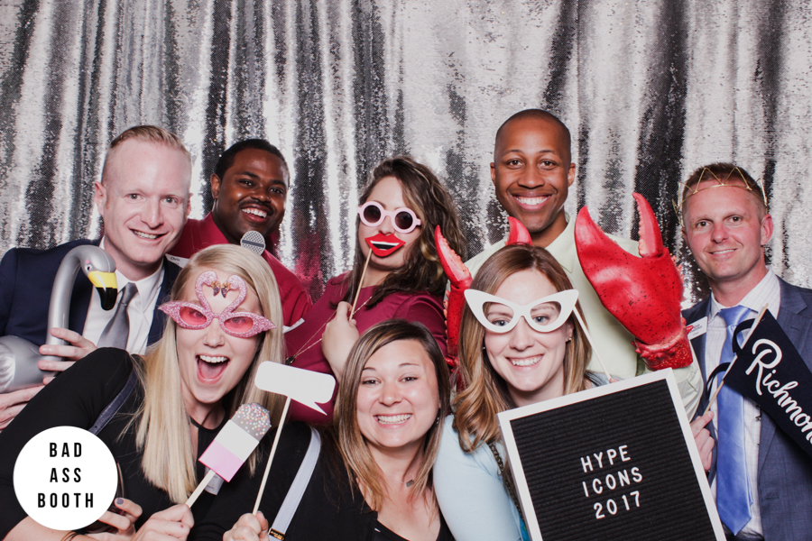 Hype Icons photo booth