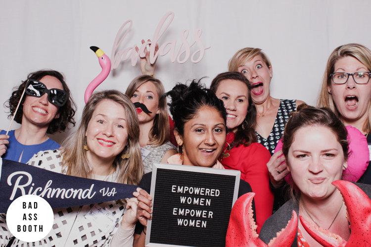 RVA Women's Day Photo Booth