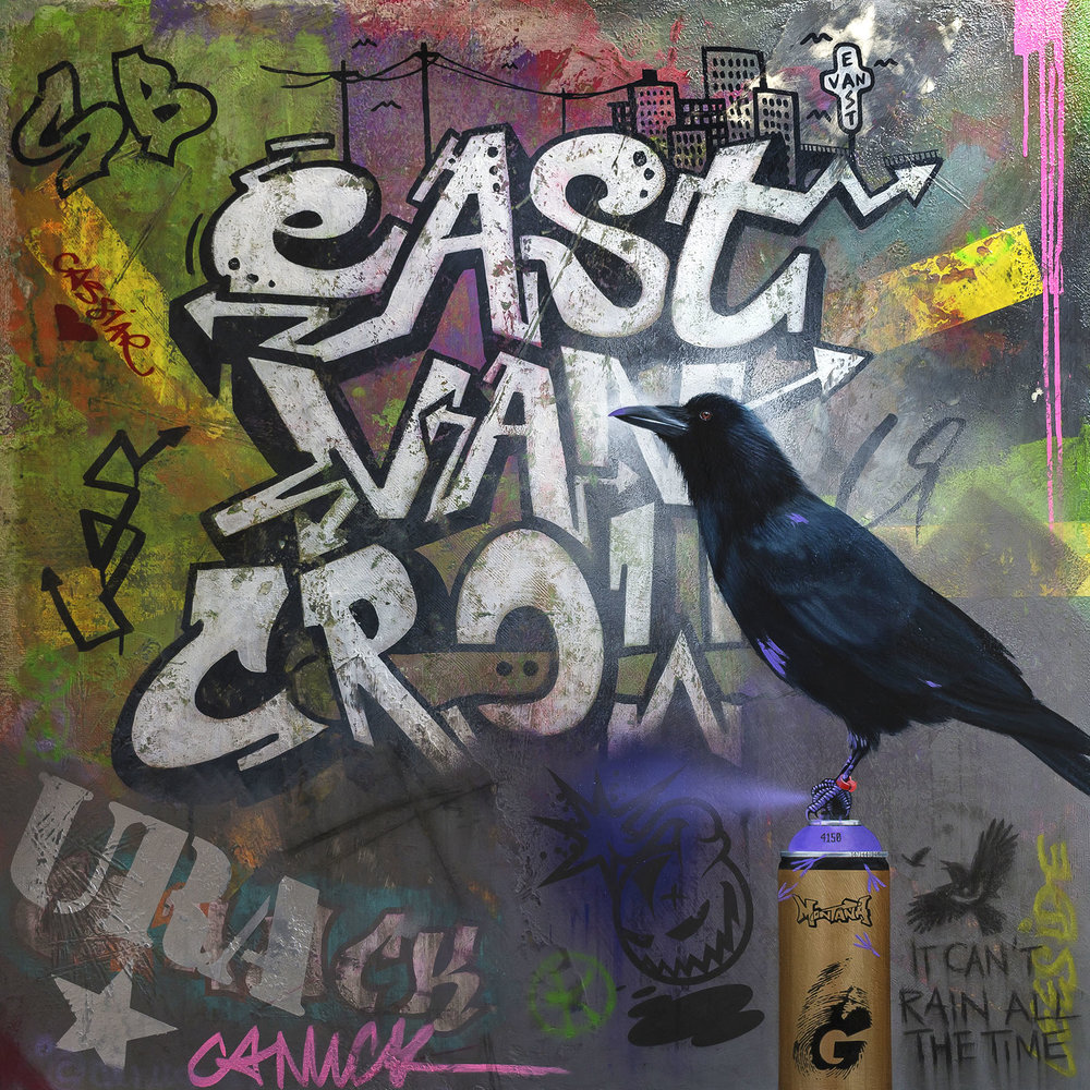 The Infamous Crow - SOLD