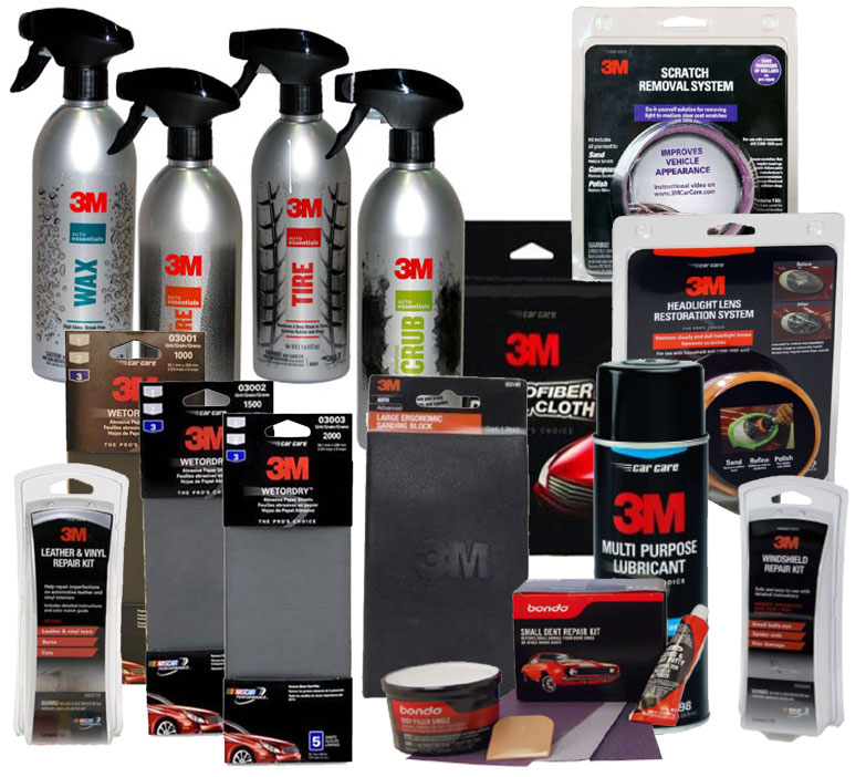 Exterior Detailing Products