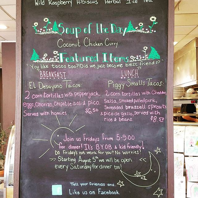 Celebrate #tacotuesday with us! Also a great day for one of our house favorite #homemadesoup - Coconut Curry with Chicken.