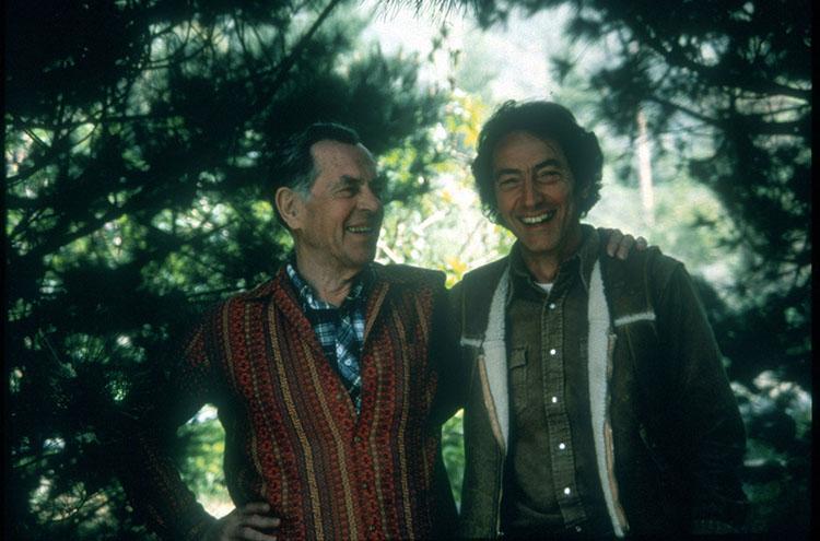 Joseph Campbell and Sam Keen teaching at Esalen.jpg