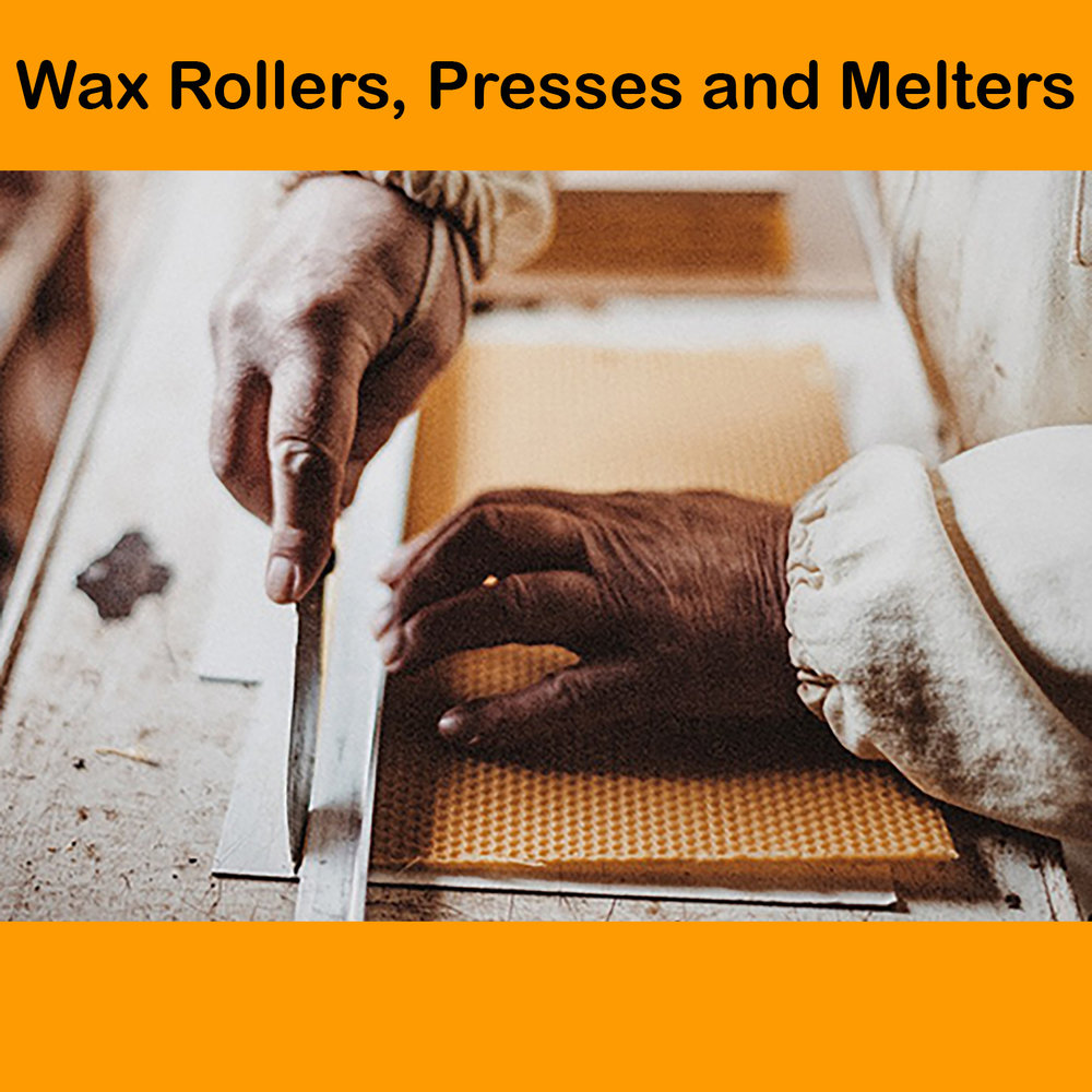 Wax rollers, presses and melters.jpg