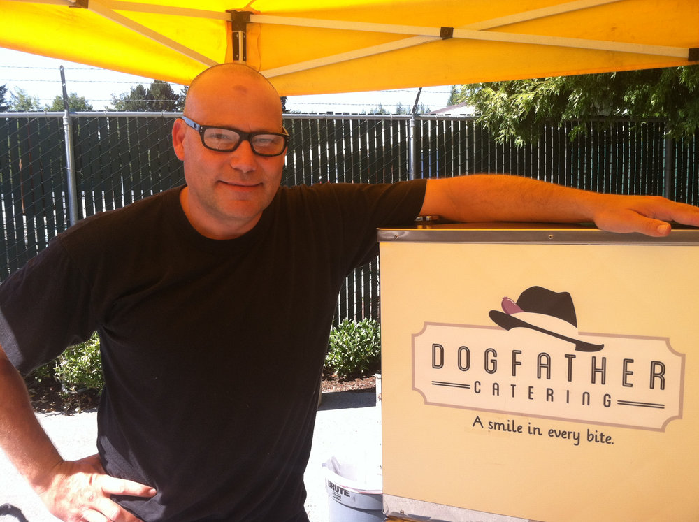 Owner of Dogfather Catering Seattle party food