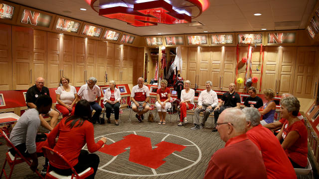 Q&A session with Nebraska Women's Basketball Coaching Staff & Big Red Fans
