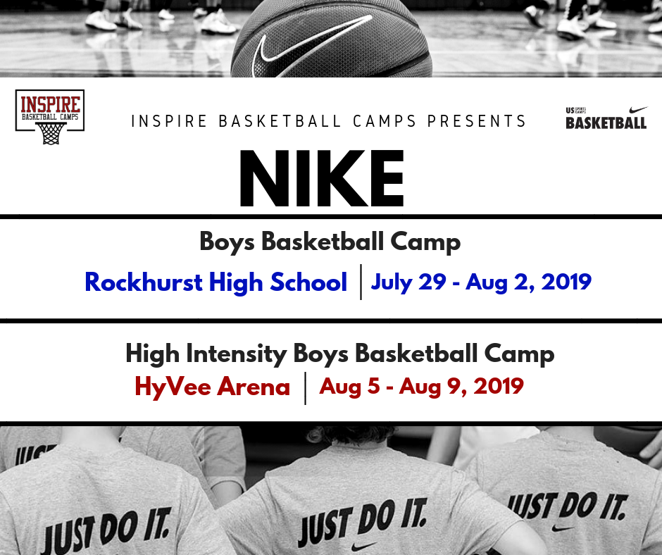 Register now for our 2018 NIKE Boys Basketball Camp at Rockhurst University. Space is limited!