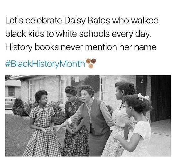 Civil rights activist, publisher, journalist, and lecturer, Daisy Lee Gatson Bates played a leading role in the Little Rock Integration Crisis of 1957. #DaisyBates #BlackHistoryMonth #MAPinThursdays #DaisyBates