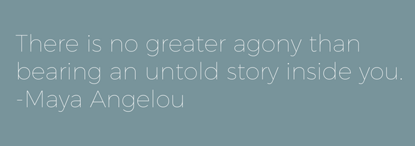 The Maya Angelou quote that served as inspiration for the Untold Brewing name.
