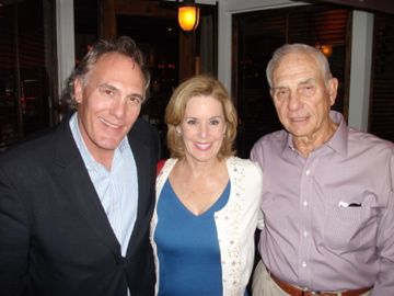 Preston with Howard Kalmenson (Owner of Lotus Communications) and wife   Holly Smith Kalmenson LA 5-4-13 .jpg