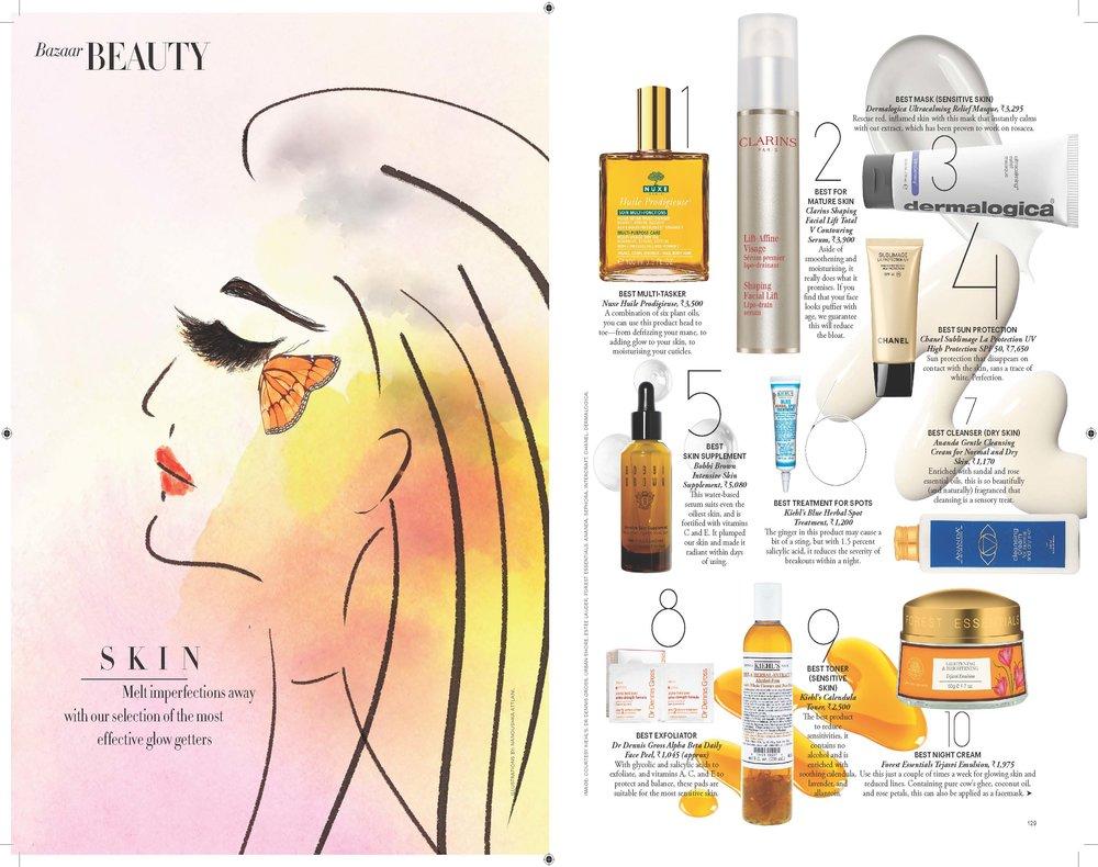 2015 Beauty 100 Skin