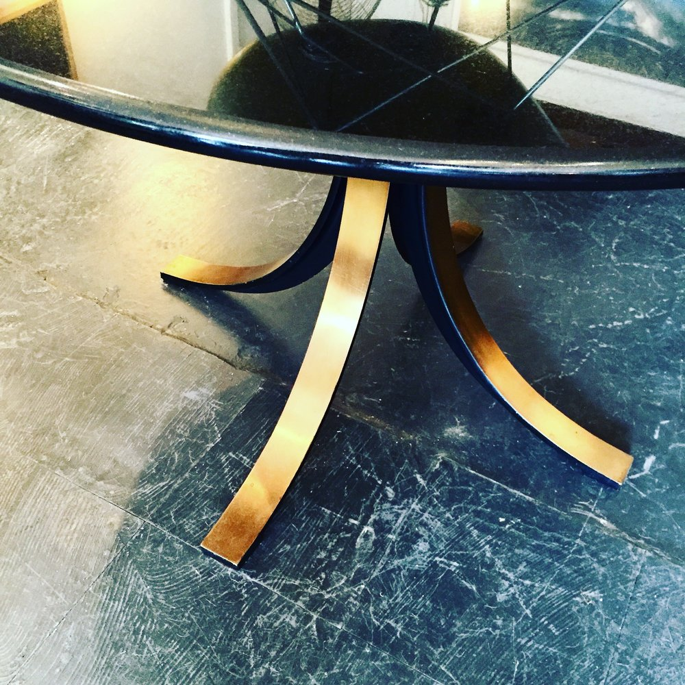 SOLD - T69 DINING TABLE BY BORSANI